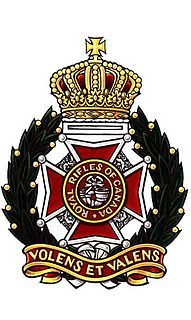Royal Rifles of Canada former infantry regiment of the Canadian Army
