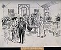 Royal Victoria Hospital, Belfast; a visit by the King and Qu Wellcome V0012215.jpg