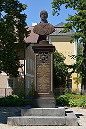 Rudolfdenkmal in Bad Ischl (Quelle: Wikimedia)