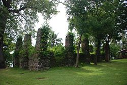 Ruin of old church, Bonbon, Catarman