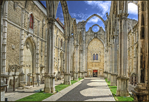 Ruins of Igreja do Carmo at 2009-06-15