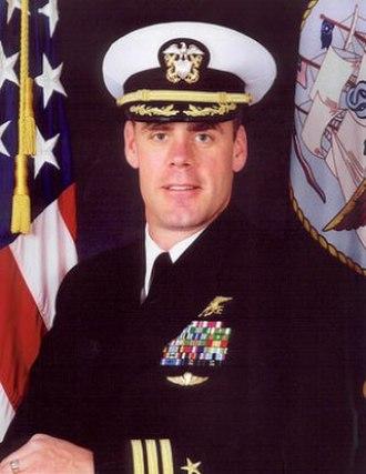 Ryan Zinke - Zinke during his service in the U.S. Navy