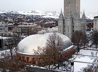 Salt Lake Tabernacle Building in Salt Lake City, Utah