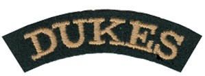 Cape Town Rifles - Image: SADF era Cape Town Rifles the Dukes shoulder title