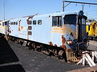 South African Class 5E, Series 3 - Image: SAR Class 5E Series 3 E563