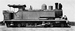 South African Class E 4-6-4T - NGR Class F no. 1, SAR Class E no. 87