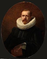 Daniël Franken dzn. (1838-1898) bankier, kunstverzamelaar, in 17de-eeuws kostuum