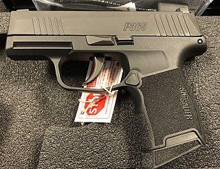 SIG Sauer P365 Polymer frame semi-automatic handgun