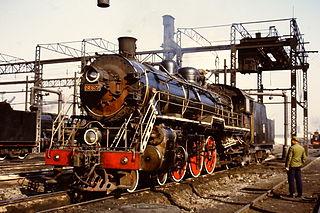 China Railways SL6 4-6-2 steam locomotive