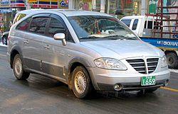 Rodius pre-facelift.