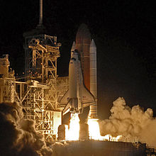 STS-116 launches from the Kennedy Space Center