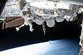 STS-133 EVA1 Steve Bowen and Alvin Drew 3.jpg