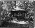 SUMMER HOUSE TOWARDS RIVER - Wilderstein, Morton Road, Rhinebeck, Dutchess County, NY HABS NY,14-RHINB.V,4-32.tif