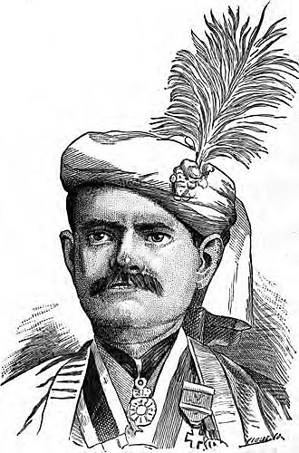 Sourindra Mohun Tagore - Portrait of Sourindra Mohun Tagore c. 1883