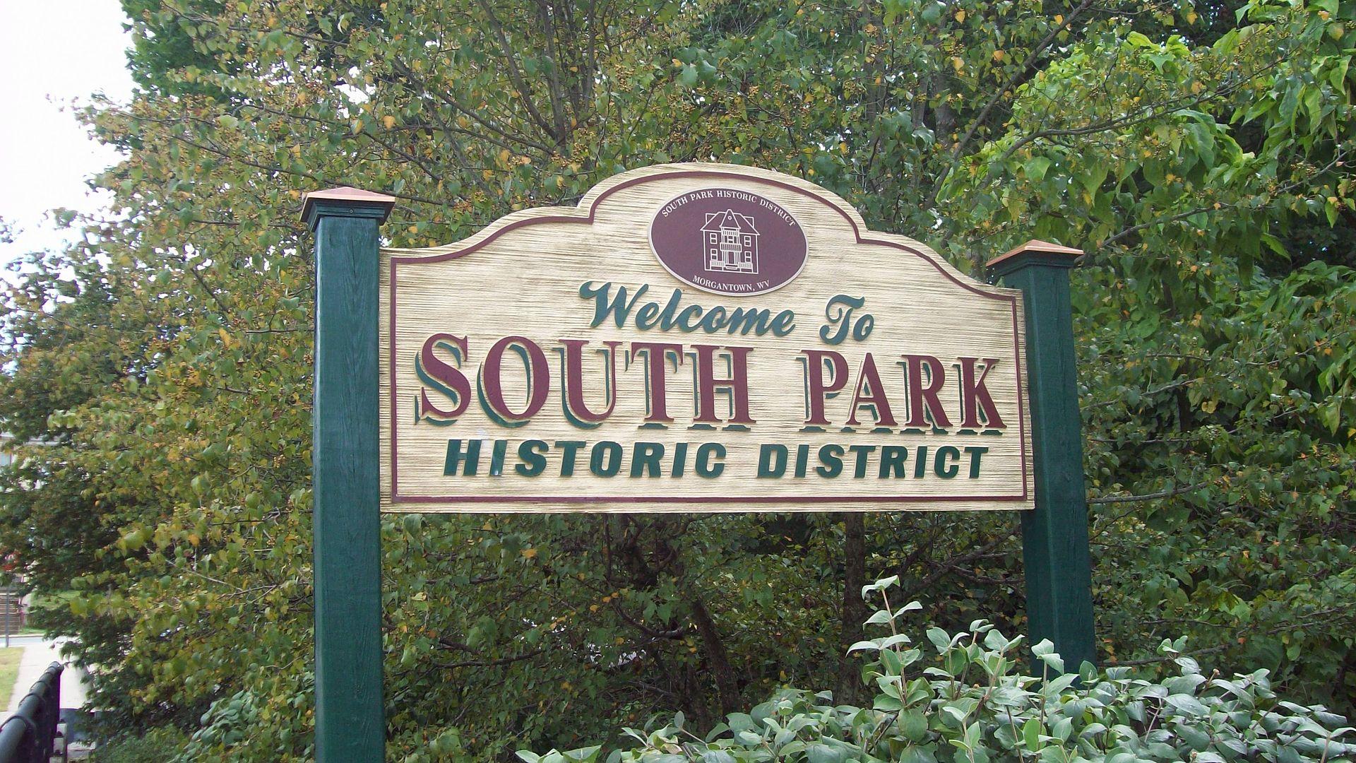 south park historic district  morgantown  west virginia