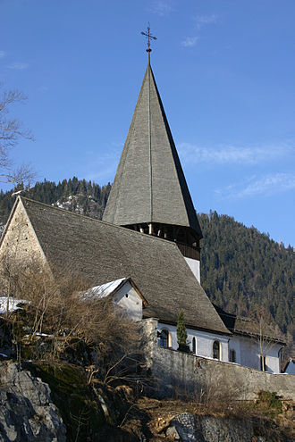 Saanen - Saanen village church
