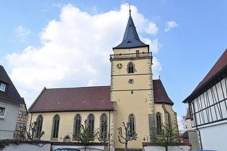 Sachsenheim - Sachsenheim St. Fabian and Sebastian