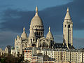 Sacré Coeur early in the morning, Paris 25 December 2012.jpg
