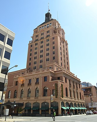 Sacramento, California - The Elks Tower was built in 1926 in an Italianate style.
