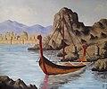 Safe harbor II oil on canvas by Michel Raad.jpg