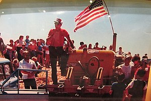 Grand County, Utah - Grand County residents protest a BLM study area on July 4th, 1980.