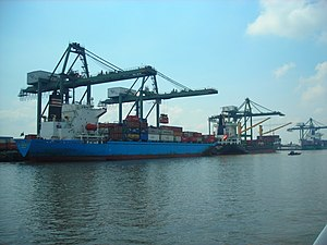 Southeast (Vietnam) - Saigon Port