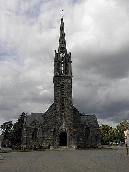 Église paroissiale Saint-Just à Saint-Just (35).