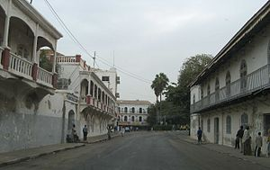 Saint-Louis maisons coloniales