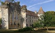 Saint-Martin-l'Ars 86 Abbaye la Réau Vue SW 2012