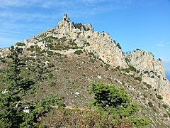 Saint Hilarion Castle, Northern Cyprus - panoramio (6).jpg