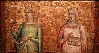 Saint Margret and Saint Agnes