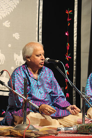 Rajan and Sajan Mishra - Sajan Mishra performing at Bharat_Bhavan Bhopal (July 2015)