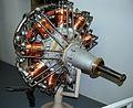 Salmson Type P9 rotary engine, Musee de l'Air et de l'Espace, Le Bourget, Paris. (8127766906).jpg