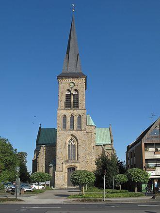 Salzbergen - Salzbergen, church: Kirche Sankt Cyriakus