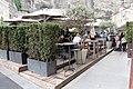Salzburg - Altstadt - Hotel Blaue Gans Gastgarten - 2019 08 07.jpg