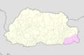 Samdrup Jongkhar Bhutan location map.png