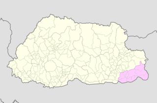 Samdrup Jongkhar District District of Bhutan