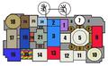 Sammezzano, first floor rough map.png