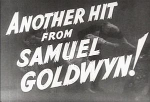 Samuel Goldwyn Productions - from the trailer for The Hurricane (1937)
