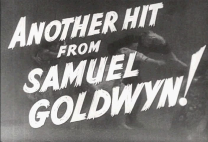 Samuel Goldwyn The Hurricane Trailer screenshot
