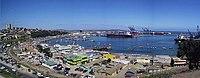 San Antonio es, en la actualidad, el principal puerto exportador del país