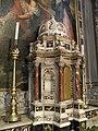 Sant'Andrea Apostolo, interno, altare maggiore, tabernacolo (Arquà Polesine).JPG