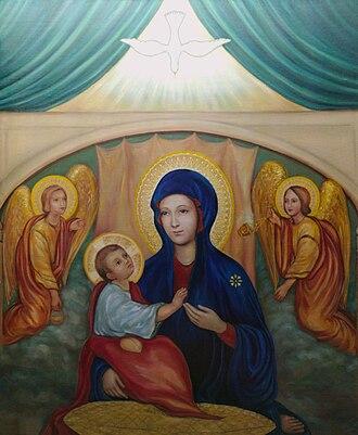 Santuario della Madonna del Divino Amore - Santa María del Divino Amor