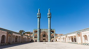 Mahan, Iran - Image: Santuario Shah Nematollah Vali, Mahan, Irán, 2016 09 22, DD 12