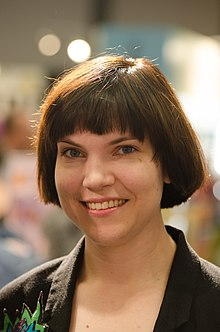 Sara Bergmark Elfgren at Göteborg Book Fair 2012.jpg