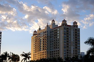 Sarasota, Florida - The Sarasota Ritz-Carlton.