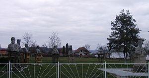 """Glodeni, Mureș - """"Statue Park"""""""