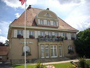 Sarrebourg - Image: Sarrebourg hôtel de ville