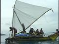 Satawal boat - Sesario Sawralur arrives in Saipan.png
