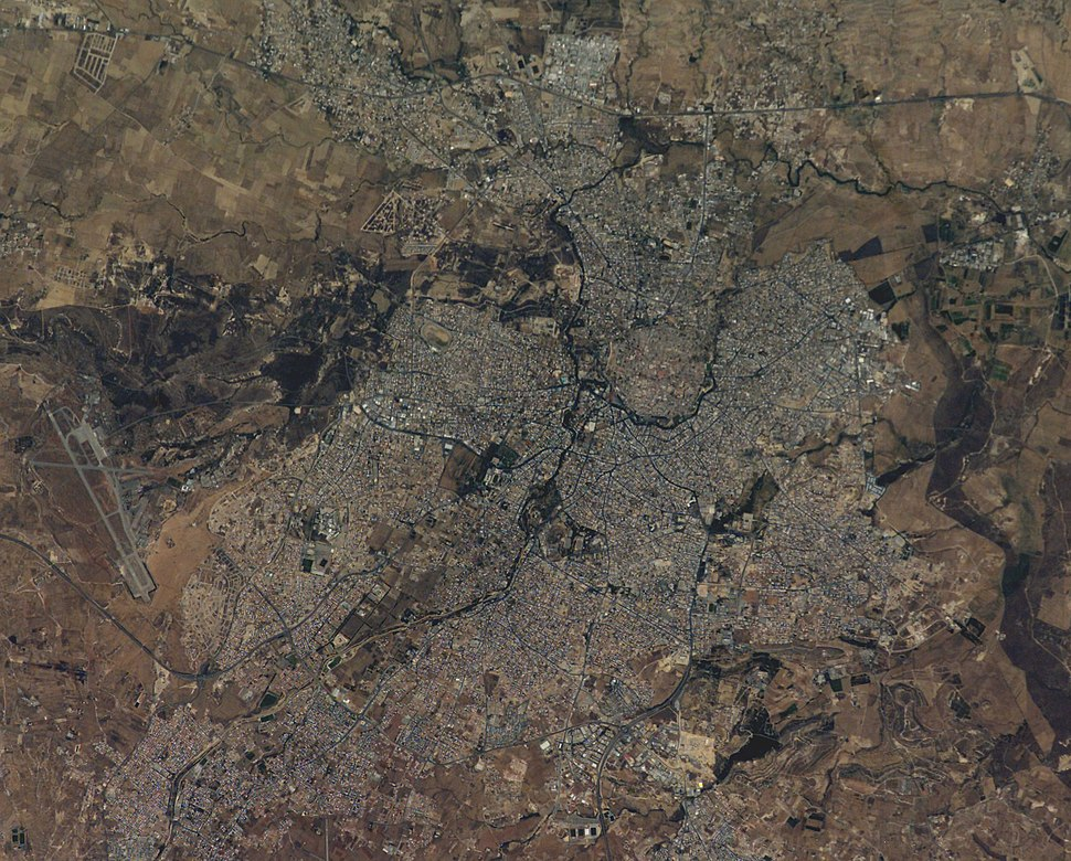 Satellite picture of Nicosia